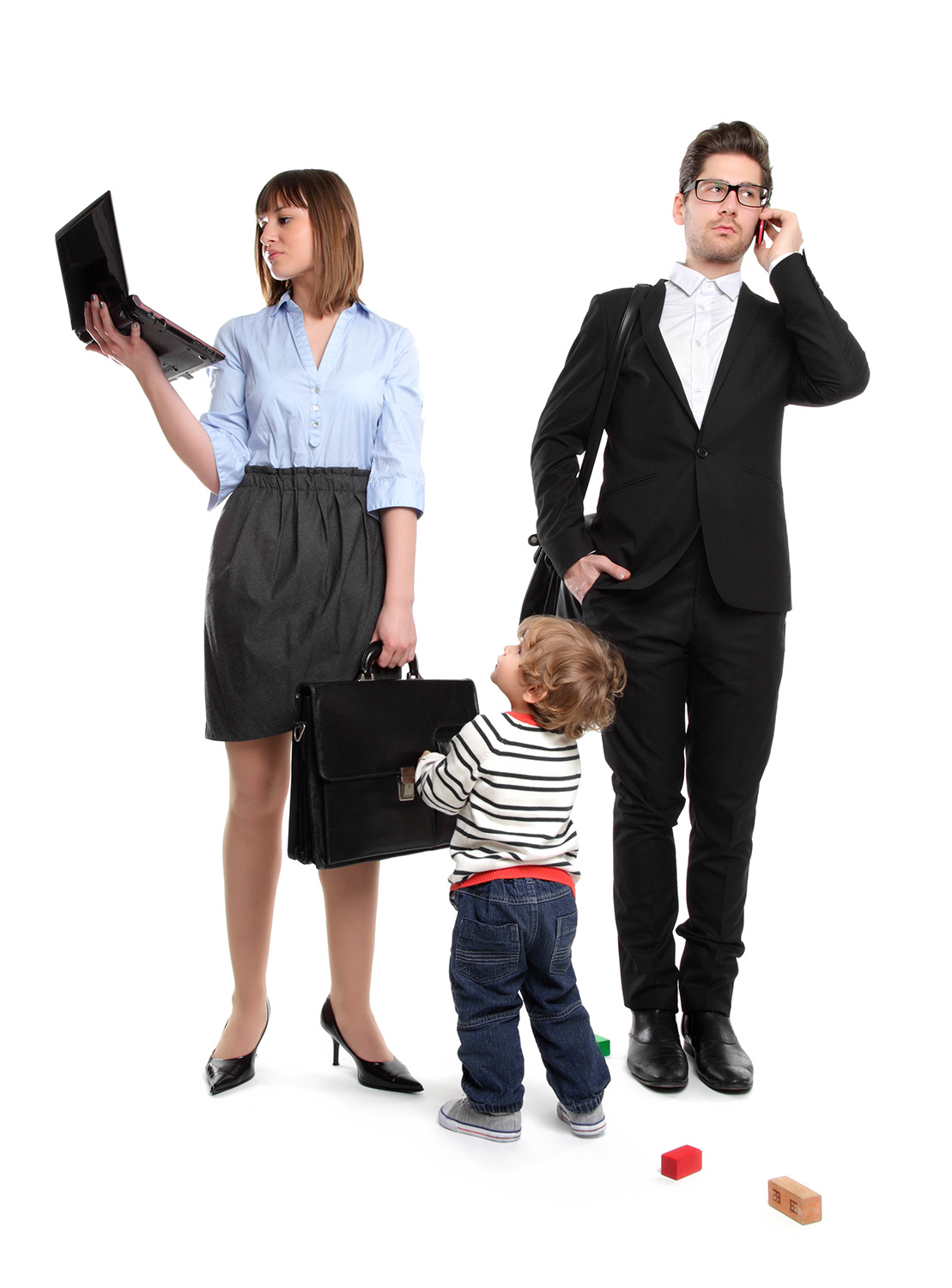 Working Young Family